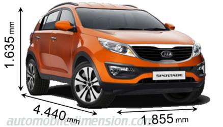 dimensions of kia cars showing length width and height. Black Bedroom Furniture Sets. Home Design Ideas