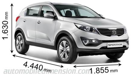 kia sportage dimensions 2017 best new cars for 2018. Black Bedroom Furniture Sets. Home Design Ideas