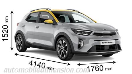 Dimension Kia Stonic 2021