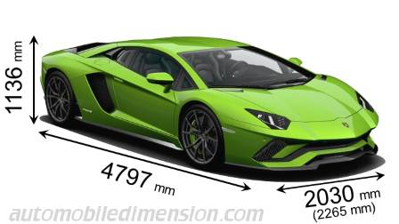 dimensions of lamborghini cars showing length width and height. Black Bedroom Furniture Sets. Home Design Ideas