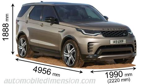 Dimension Land-Rover Discovery 2021