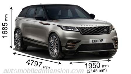 land rover range rover velar 2017 dimensions boot space and interior. Black Bedroom Furniture Sets. Home Design Ideas