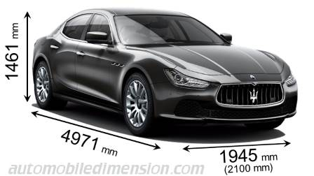 Dimension Maserati Ghibli 2013