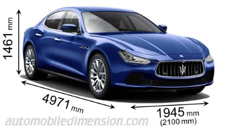 Dimension Maserati Ghibli 2017