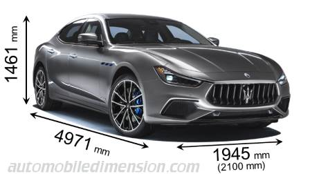 Dimension Maserati Ghibli 2021