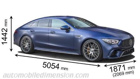 Mercedes-Benz AMG GT 4-door Coupé 2019