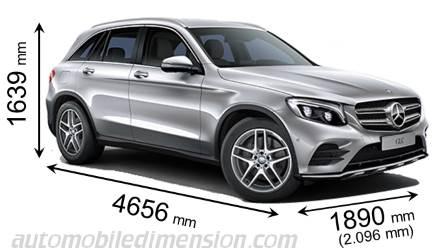 mercedes benz glc suv 2015 dimensions boot space and interior. Black Bedroom Furniture Sets. Home Design Ideas