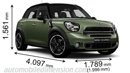 MINI Countryman 2014 Abmessungen