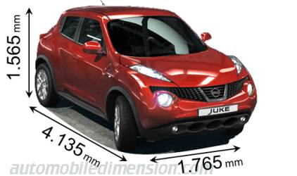 Nissan Navara Measurements >> Dimensions of Nissan cars showing length, width and height