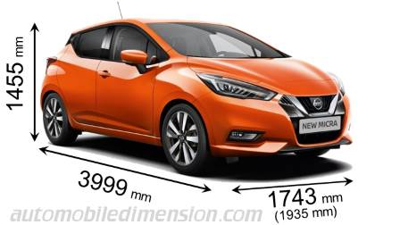 Nissan Micra 2017 Dimensions Boot Space And Interior
