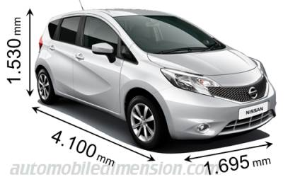 dimensions nissan note 2013 coffre et int rieur. Black Bedroom Furniture Sets. Home Design Ideas