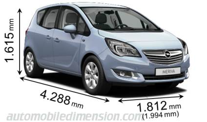 dimensions of opel vauxhall cars showing length width. Black Bedroom Furniture Sets. Home Design Ideas