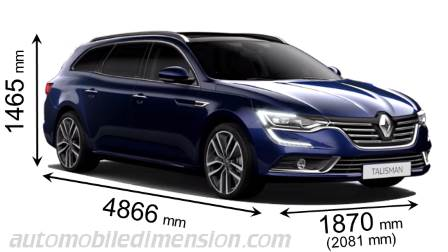 dimensions renault talisman 2016 coffre et int rieur. Black Bedroom Furniture Sets. Home Design Ideas