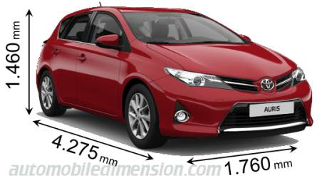 Toyota Auris Dimensions Boot Space And Interior