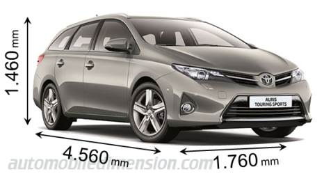 Toyota Auris Touring Sports Dimensions Boot Space And Interior