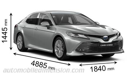 Toyota Camry dimensions