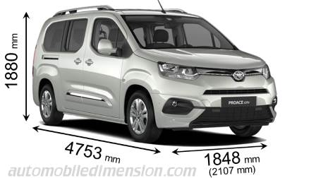 Toyota Proace City Verso Long 2020