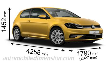dimensions of volkswagen cars showing length width and height. Black Bedroom Furniture Sets. Home Design Ideas