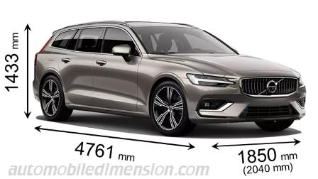 Volvo V60 2018 Dimensions Boot Space And Interior