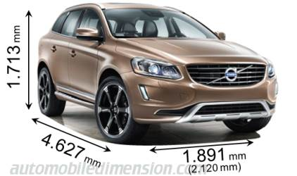dimensions of volvo cars showing length width and height. Black Bedroom Furniture Sets. Home Design Ideas